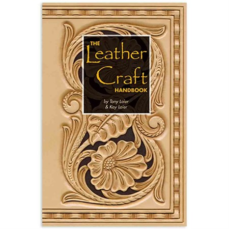 Bok The leather craft handbook engelska SB030